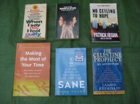 6 Mental Health Awareness and Insight Guidance Paperbacks for £5.00