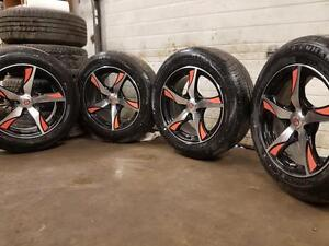 IXION WHEELS WITH ALL SEASON TIRES 205 60 16