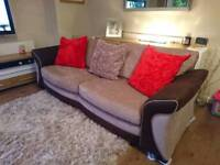 Dfs Mink Large 3/4 Seater Sofa, 6 Mths Old, DELIVERY AVAILABLE