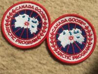 Canada goose badge for your clothes x2