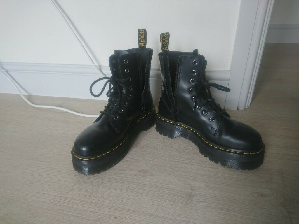 630b255e5bef7 Dr. Martens Jadon 8 Eye Boot Black Size 5 Brand new - bought the wrong size