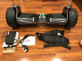 Flagship Chicane Hoverboard with new cart.