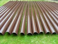 Brown Marley Deep Guttering Gutters Barn Stable Shed 60p per mtr Gardening Trays Troughs