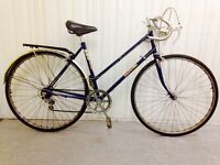 Sun Solo 10 speed road bike.. Ideal for Commuting Full Mudguards Rack