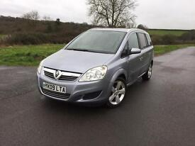 Vauxhall Zafira 1.6 petrol ⛽️ 7 seaters • 12 month mot