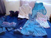 9-12 months girl's clothes bundle