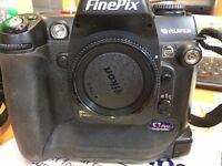 FUJI FINEPIX S3 PRO DIGITAL SLR.