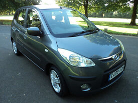 HYUNDAI I10 1.2 COMFORT One owner from new with Full service History