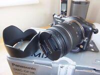 Digital Camera Micro four thirds Panasonic LUMIX DMC-GF3K 12.1MP Black (Kit w/ ASPH 14-42mm.