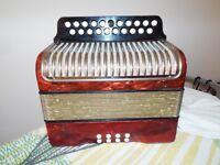 Hohner black dot accordion quick sale! !