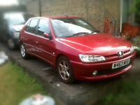 Peugeot LX 306 Auto Petrol 2000 1587 cc new tyres on front