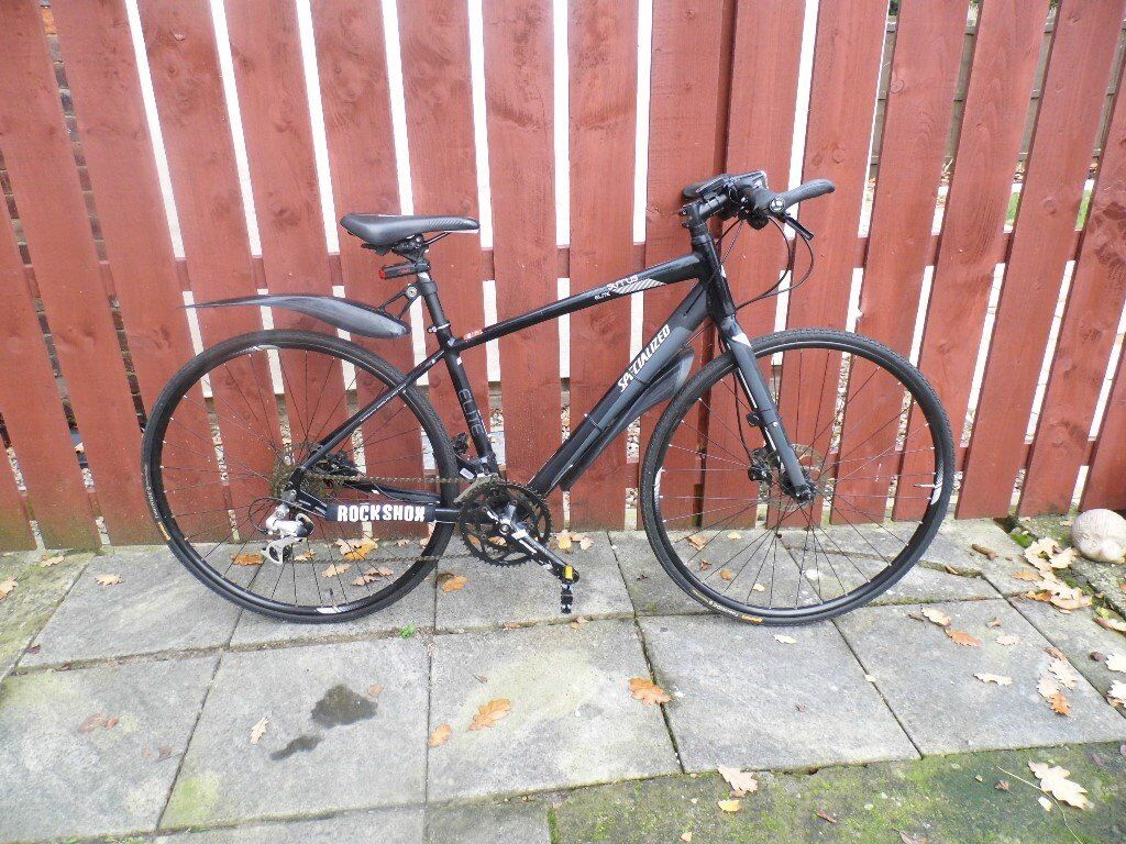 Specialized Sirrus Elite Hybrid Bike Small Frame Many Extras Good Condition