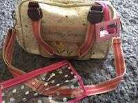 Pink Lining Changing Bag Bloomington Gorgeous