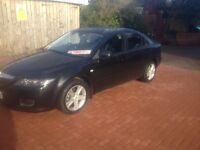 57 Reg Mazda 6 1.8 TS, FSH, Serviced and ready to drive away, nice in Black