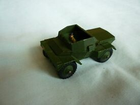 For sale Vintage Dinky scout vehicle No 673 complete with driver