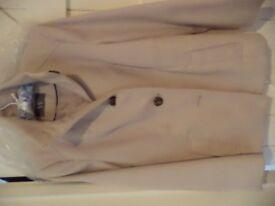 Ladies cream jacket