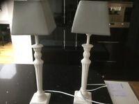 Pair of lampshades