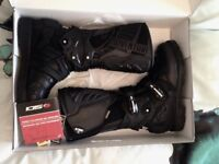 Sidi Adventure 2 GoreTex Motorcycle Boots Eur 44 / UK 9.5 Black RRP £312 NEW in Box!