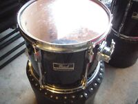 "12"" Pearl Export Tom in gloss black - Excellent condition"