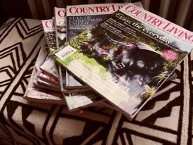 FREE..... lots of back copies of Country Living magazine
