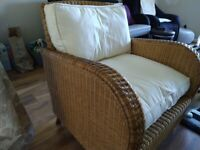 Indoor lounge chair sofa / Conservatory / Garden, single seater