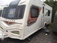2013 Bailey Cadiz II 4 Berth Caravan inc Motor Mover - REDUCED SALE - Quality Touring Holiday
