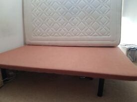 Double bed stand