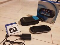 PS vita with 5 games