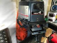 Yamaha outboard engine 4hp