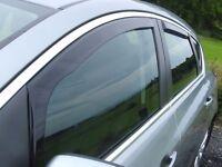 Vauxhall astra 2013 Heko TINTED Window wind deflectors
