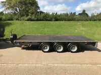 2016 I for Williams 14ft plant trailer, trim axel, led lights