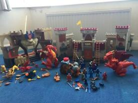 Imagenext Castle x 2 with lots of accessories