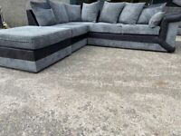 Grey Harvey's corner sofa, couch, suite, furniture 🚚🚛🚚