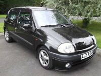 2001 RENAULT CLIO 1.6 RSI - Only 63000 miles