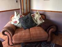 2 x 2 seater sofas and chair