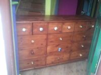 cupboard with lots of drawers, both small and large CAN DELIVER (Sherwood NG5)