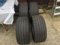 Dunlop SP Sportmaxx GT 245/30/20 x4 tyres as new