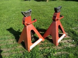 Pair of 6-ton axle stands