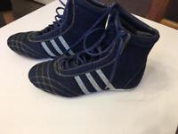 Adidas denim boots