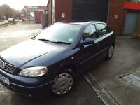 1.6 vauxhall astra automatic. Over 12 months MOT and low mileage