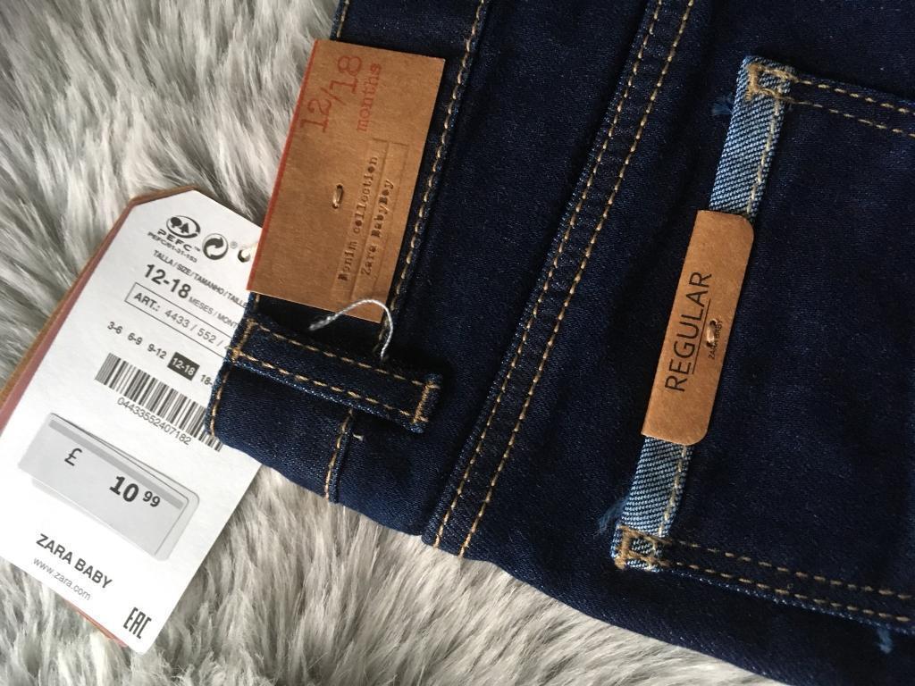 Brand New with Tags - Baby Boy Zara Jeans  b214d535da8