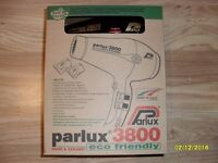 Hair Dryer Black Parlux 3800 Ceramic And Ionic Eco Friendly