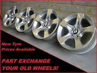 "1369 Genuine 17"" BMW 339 3 Series F30 E90, 1 Series F20, 2 4 Series Alloy Wheels"