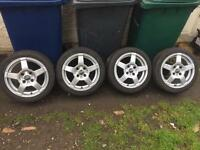 "Ford escort,Fiesta,Focus,puma,ka 15 "" oz wheels,mint,£180"