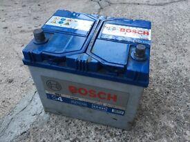 BOSCH 12v Car Battery