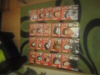 Elvis Presley magazines, full set 1 -90