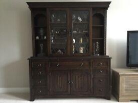 Jaycee oak cabinet