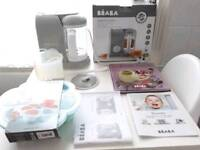 Beaba baby cook 4 in 1 baby food processor steam cook blend