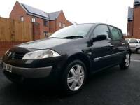Renault Megane ll with new keycard