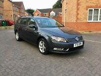 2011 VOLKSWAGEN PASSAT BLUEMOTION 1.6 DIESEL ESTATE, £30 TAX, FULL DEALER HISTORY, FULL MOT